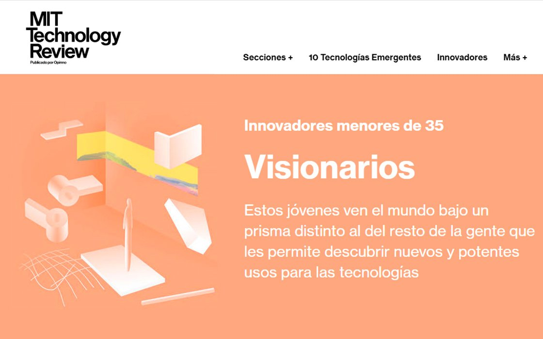Innovators Under 35 (MIT Technology Review)