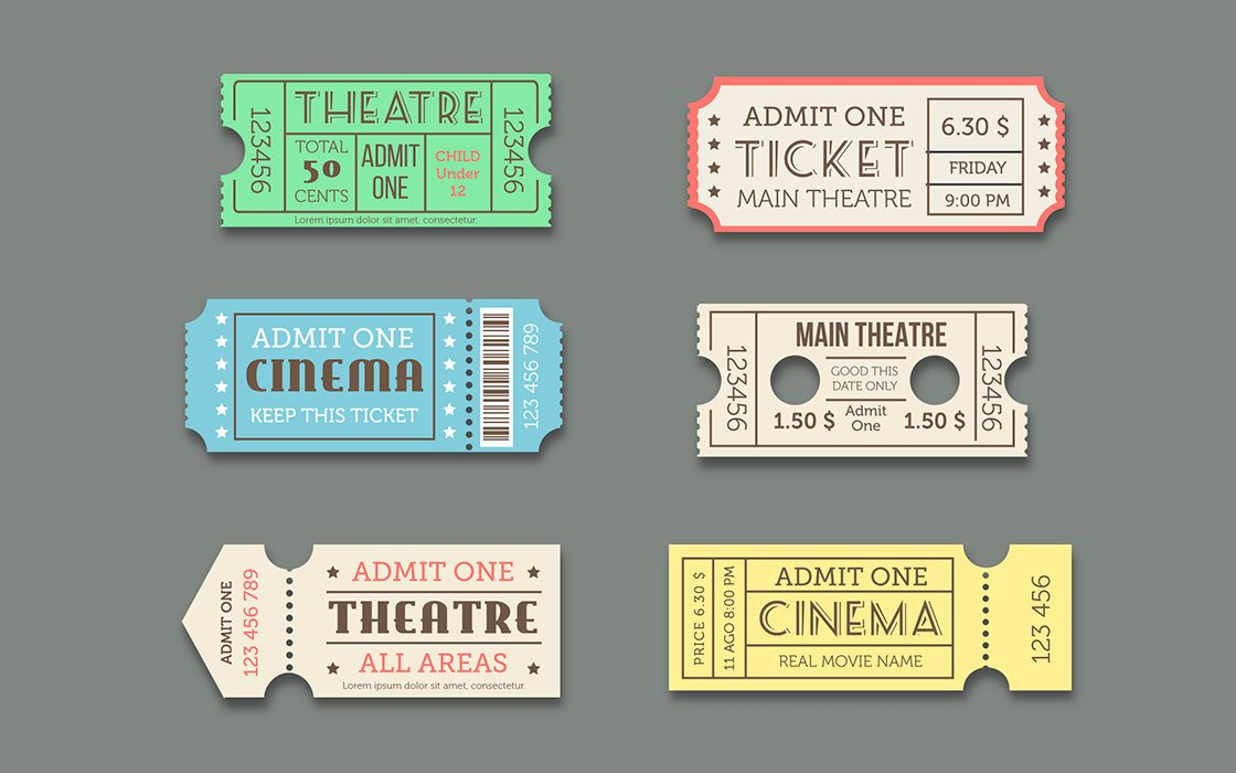 los tickets se hacen hueco en el diccionario