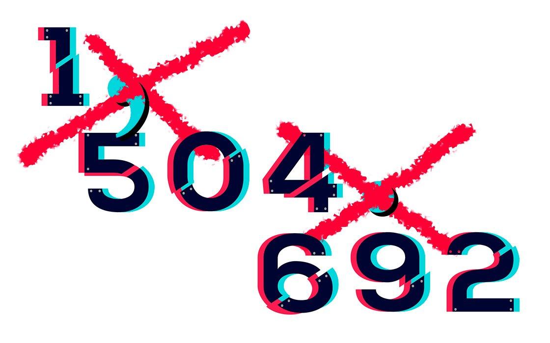 Cómo escribir números de varios dígitos correctamente