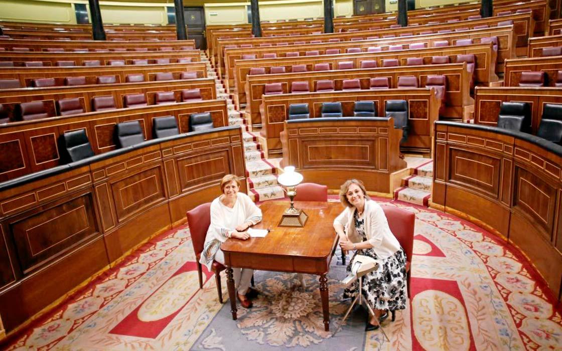 taquígrafas en el Congreso de los Diputados